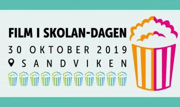 Illustration: film i skolan-dagen 30 oktober 2019 sandviken